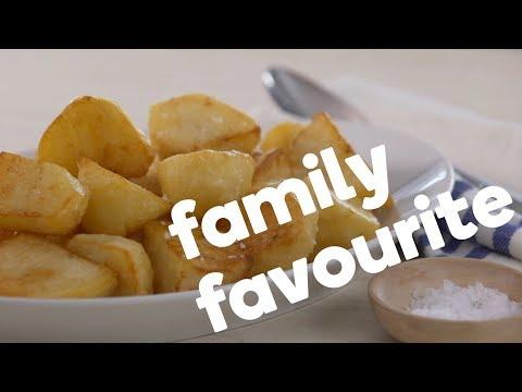 How to make crunchy, crispy roast potatoes