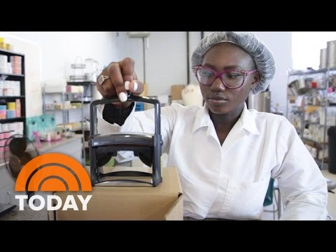 This 16-Year-Old Entrepreneur Has Her Own Skin Care Line | TODAY