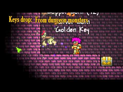 Terraria - Golden Key, quick guide