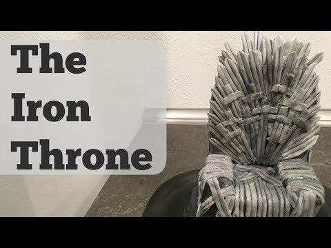 THE IRON THRONE - Cake