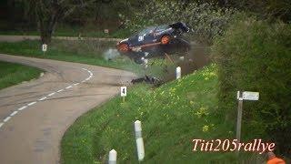 course de côte d'irancy 2018: crash et gros passages