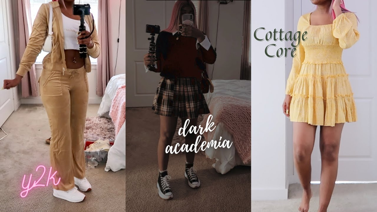 i dressed as a different aesthetic everyday for a week