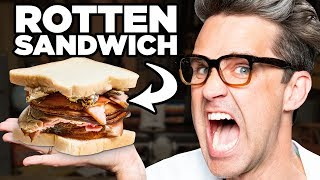 Making A Rotten Hot Car Sandwich