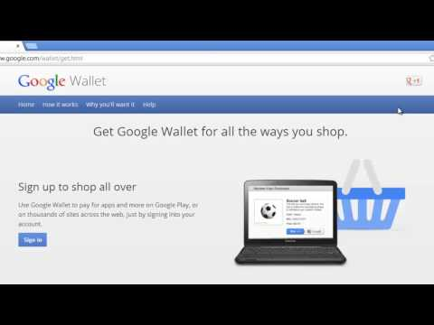 How to Create Google Wallet Account