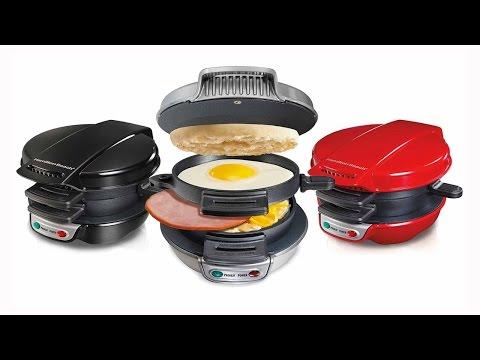 Hamilton Beach Breakfast Sandwich Maker - As Seen On TV