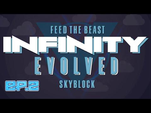 FTB Infinity Evolved SkyBlock | Coke Oven & Smeltery | Ep.2 [Modded FTB Skyblock]