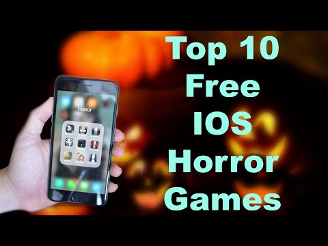 Top 10 Free IOS Horror Games Halloween 2016