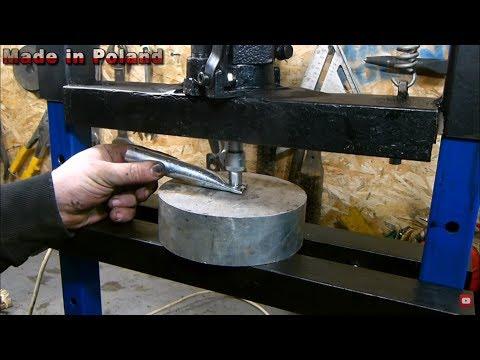 ELECTRIC Hydraulic Press DIY