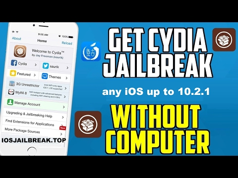 how to install cydia - how to install cydia ios 10.2.1 - jailbreak ios 10.2.1 - get free cydia
