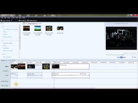 How to add images to a movie in movie maker [HD]