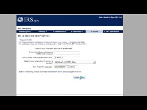 Tax ID to Work with Wholesalers