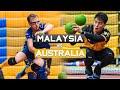Malaysia Vs Australia Match Highlights 2019 World Dodgeball Championships Day 2