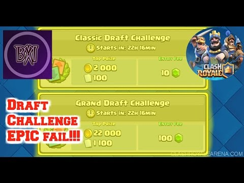 Clash Royale: Special Event - Draft Challenge - two epic fails!