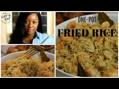 Nigerian Fried Rice Recipe | One Pot Method | Ivonne Ajayi