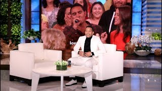 Audience Members Imperfectly Sing John Legend's 'All of Me'