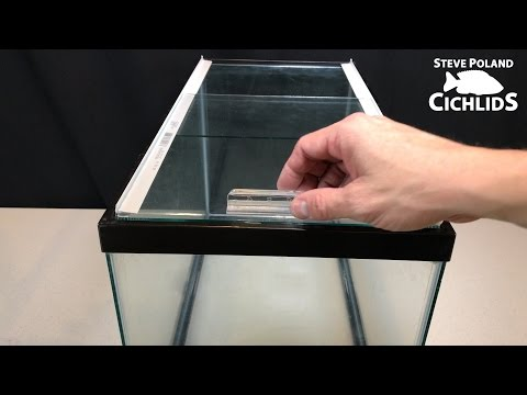 How to Make Sliding Glass Aquarium Lids