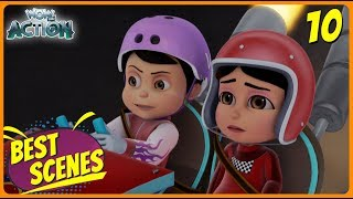 BEST SCENES of VIR THE ROBOT BOY | New Episode | Animated Series For Kids | #10 | WowKidz Action