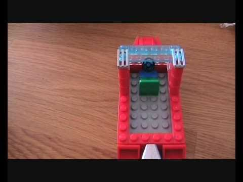 How to build a lego boat