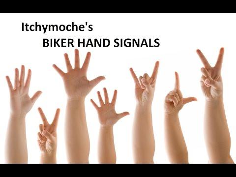 Biker For Dummies - The Hand Signals