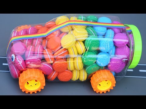 Macaroons Cars Candy Super Crash Lightning Mcqueen Disney Cars DIY How To