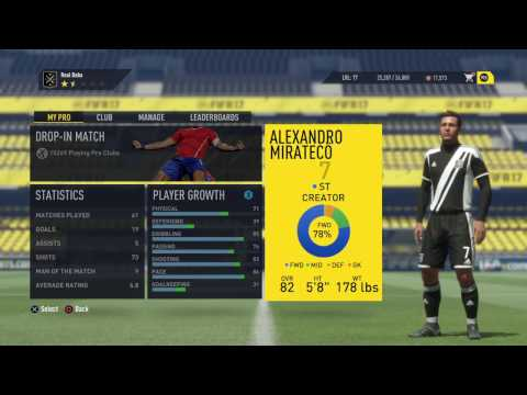 FIFA 17-club pro-How to create your own club and costumise it-Recruting players
