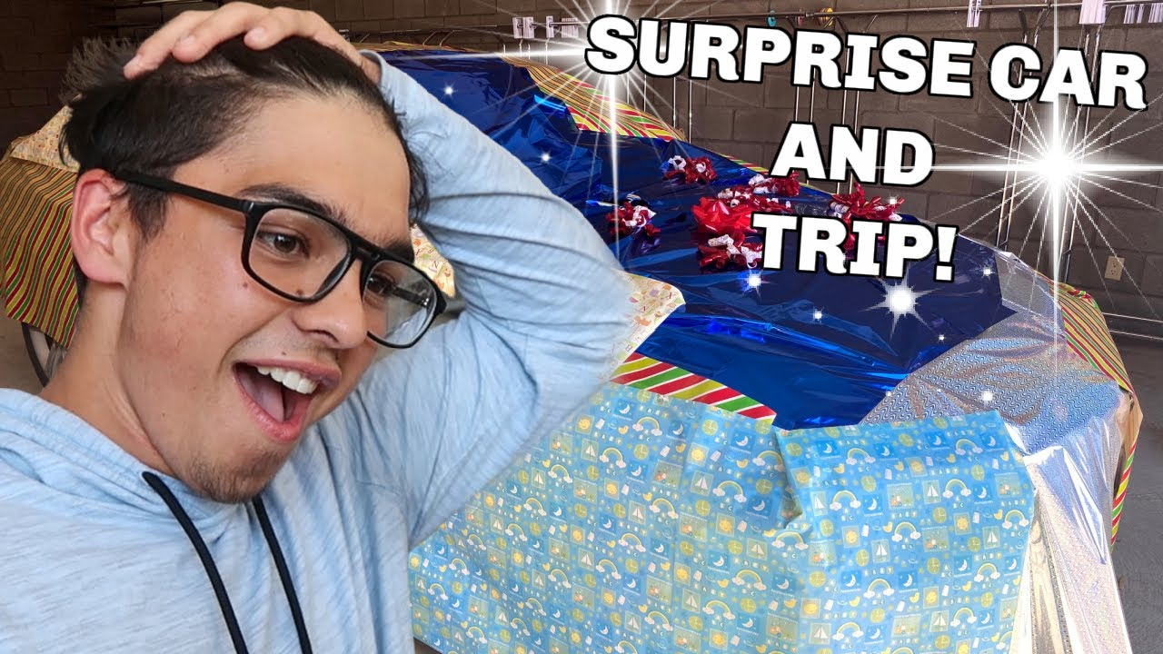HUGE Birthday Surprise! | NEW CAR and Trip | Surprise 18th Birthday | Alex Birthday Special