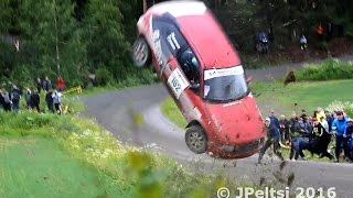 Best of finnish rally crashes 2016 by JPeltsi