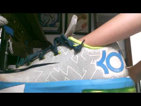 Kd 6 clean with reshoevn8r! My favorite cleaner!