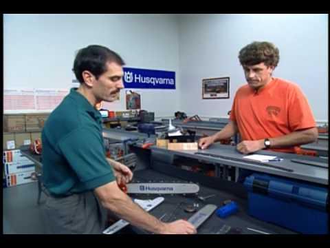 Chainsaw Bar Maintenance