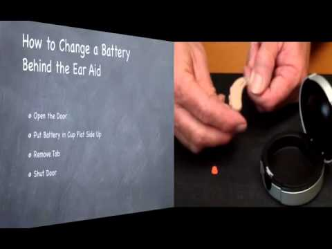 Hearing Aids Modesto: How to Change a Hearing Aid Battery on Behind & In the Ear Models