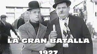 El Gordo y el Flaco en Español ( 3D ) La pelea del siglo 1927 - Homenaje a una época - HD
