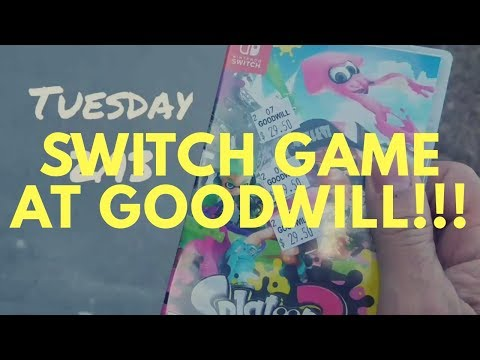 Video game hunting: Switch game at Goodwill!!!