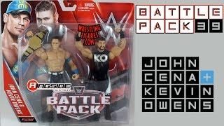 WWE FIGURE INSIDER: John Cena & Kevin Owens - WWE Battle Packs 39 Toy Wrestling Action Figures
