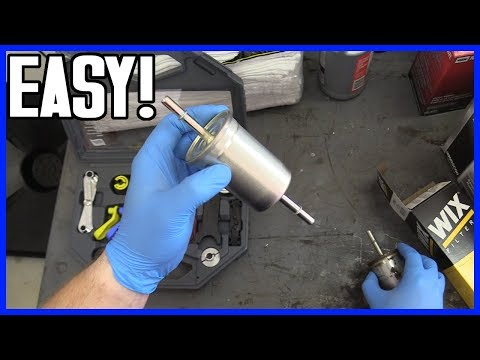 How to Replace Fuel Filter Ford F-150 2004-2008