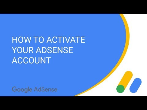 How to activate your AdSense account