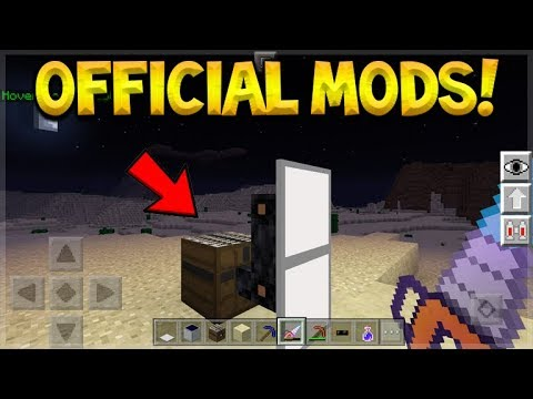 OFFICIAL MOD PACKS FOR MCPE ARE COMING! - NEW MINECRAFT BEDROCK MODDING API!