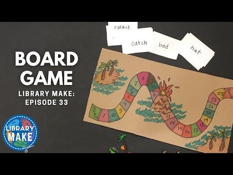 DIY Literacy:  Board Game (LIBRARY MAKE)