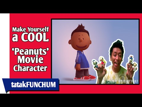 Make yourself a COOL 'Peanuts Movie' Character