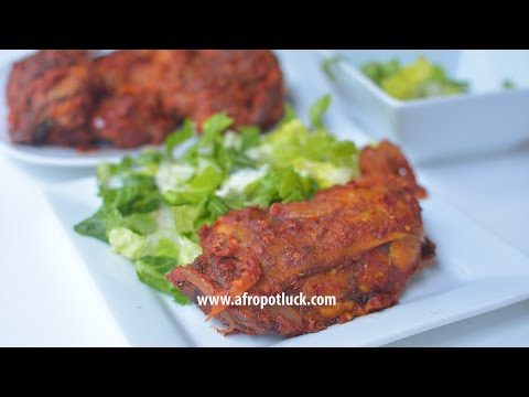 Chicken Recipes - How To Make Spicy Peppered Chicken | Afropotluck