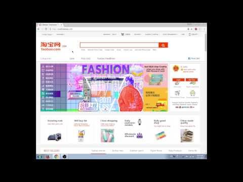 Shop Taobao in English - Part 1 - Create Account