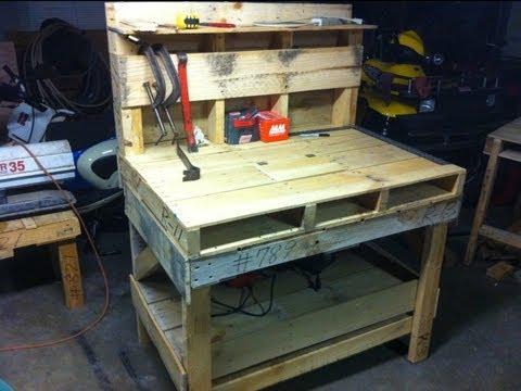 Pallet Work Bench
