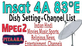 Insat 4a + DD Free Dish Setting Videos - 9tube tv