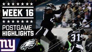 Giants vs. Eagles   NFL Week 16 Game Highlights
