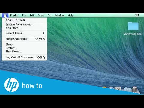 How to set up a Shared Folder in Mac Operating System