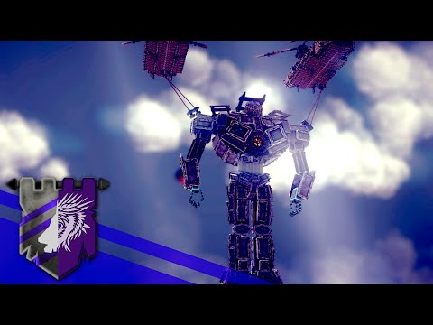 Pacific Rim - Gipsy Danger Fly Over the Sea | BESIEGE v 0.25 | Theater of Flights #29