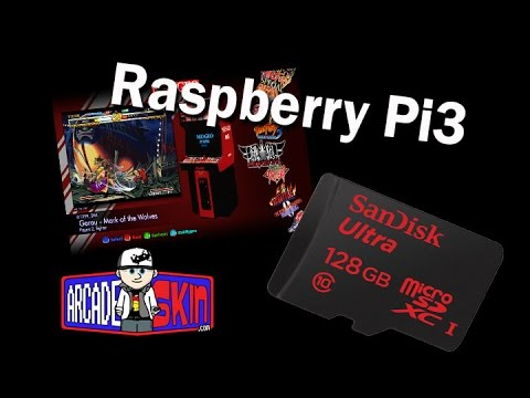 Image install to micro sd card for Raspberry Pi3
