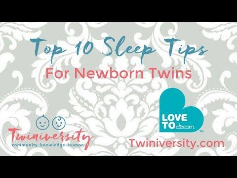 Top 10 Sleep Tips for Newborn Twins