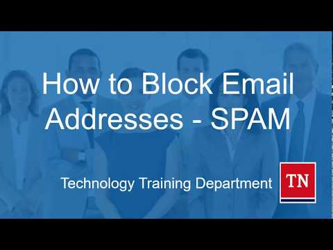 How to Block Email Addresses in Outlook