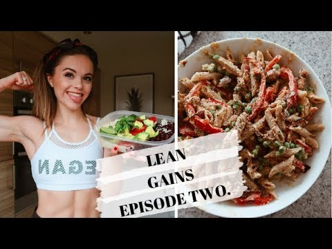 QUICK & HEALTHY MEAL PREP IDEAS // Lean Gains Episode Two.