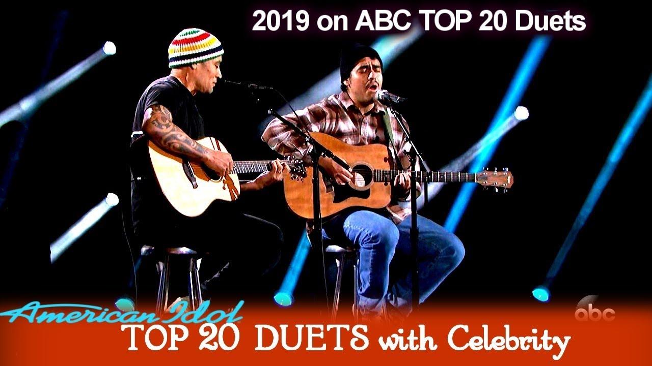 "Alejandro Aranda & Ben Harper Duet ""There Will Be Light"" | American Idol 2019 TOP 20 Celebrity Duets"
